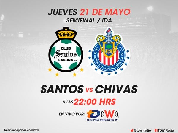 Santos vs Chivas, Semifinal del Clausura 2015 - Santos-vs-Chivas-Semifinal-Liga-MX-Clausura-2015-en-vivo-por-radio