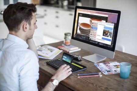 Logitech presenta un teclado inalámbrico para PC, smartphone y tablet