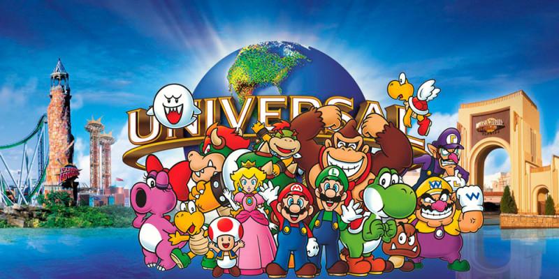 Universal Parks & Resorts tendrá atracciones basadas en los juegos de Nintendo - nintendo-universal-parks-800x400