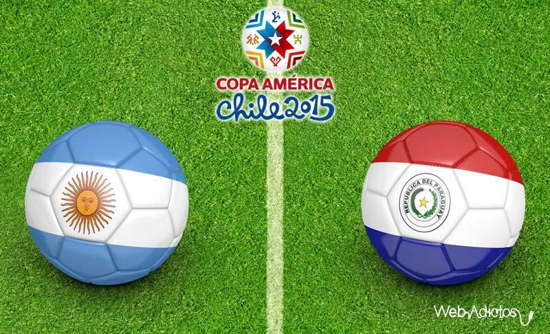 Argentina vs Paraguay ¿A qué hora juegan la semifinal de la Copa América? - Argentina-vs-Paraguay-Semifinal-Copa-America-2015-Horario-y-Canal