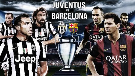 Barcelona vs Juventus, Final Champions League