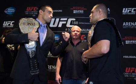 UFC 188: Caín vs Werdum ¿A qué hora es y dónde verlo?