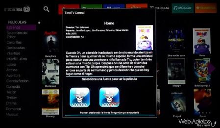 TotoTV Stick 120, Centro de entretenimiento para tu TV