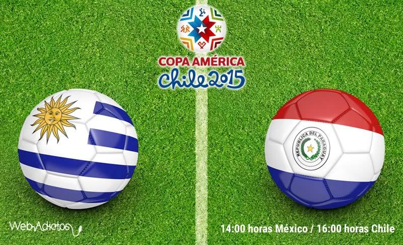 Uruguay vs Paraguay en la Copa América 2015 - Uruguay-vs-Paraguay-Copa-America-2015-En-vivo