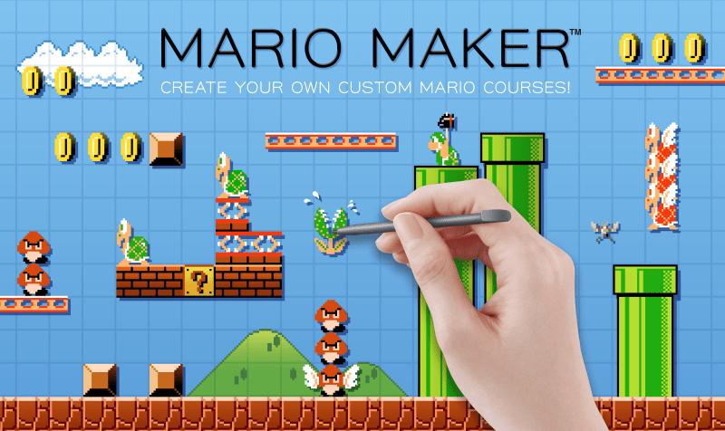 Con Super Mario Maker podrás crear tu propio mundo de Mario Bros - WiiU_MarioMaker-800x476