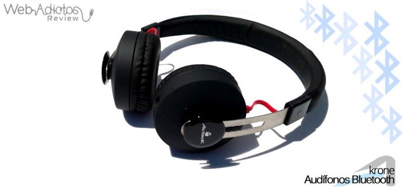 Audífonos Bluetooth Krone, inalámbricos y multifuncionales - acteck-audifonos-krone-12