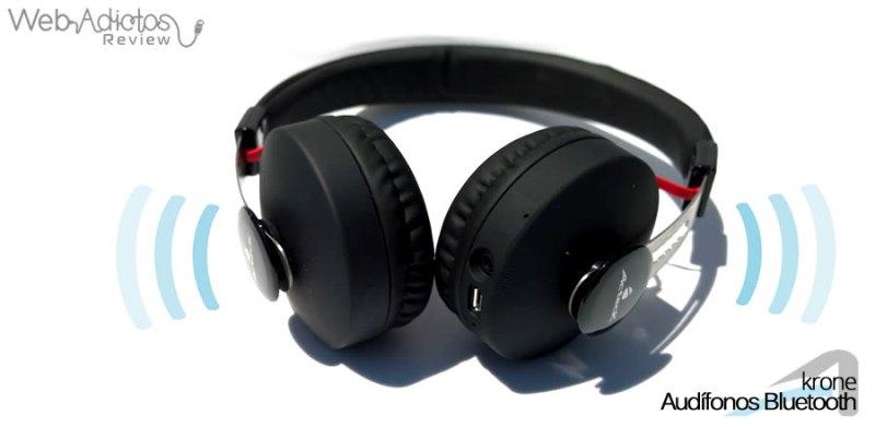 Audífonos Bluetooth Krone, inalámbricos y multifuncionales - acteck-audifonos-krone-13
