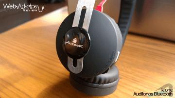 Audífonos Bluetooth Krone, inalámbricos y multifuncionales - acteck-audifonos-krone-5