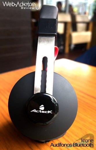 Audífonos Bluetooth Krone, inalámbricos y multifuncionales - acteck-audifonos-krone-7