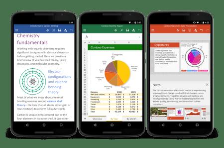 Microsoft Office ya está disponible en Android