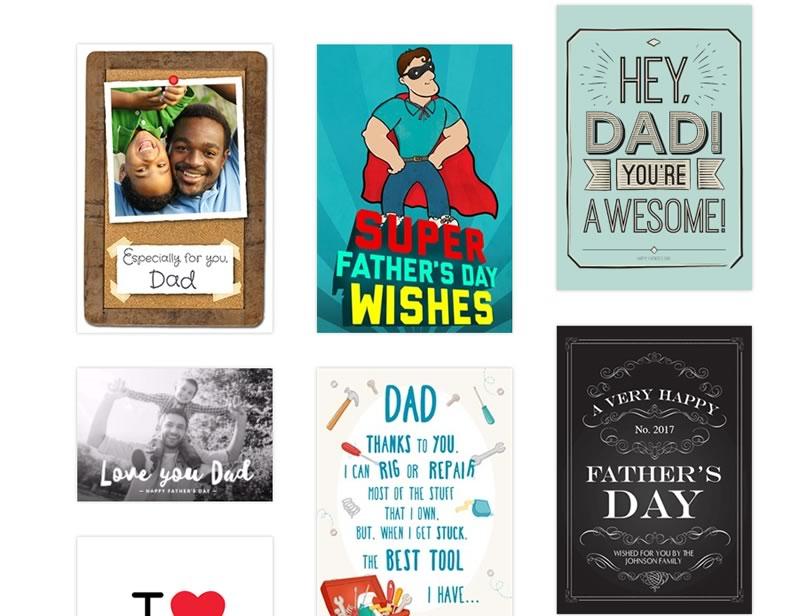Postales del día del padre 2017, ideales para tu papá geek - tarjetas-dia-del-padre-greetings-island