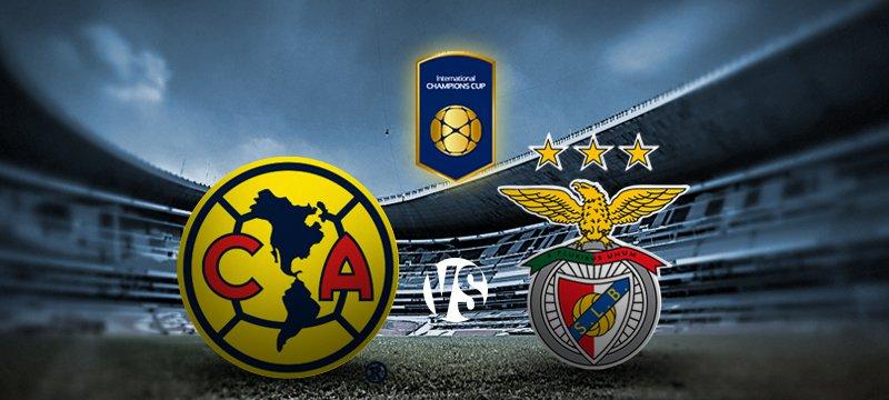 América vs Benfica en la International Champions Cup 2015 - America-vs-Benfica-en-vivo-International-Champions-Cup