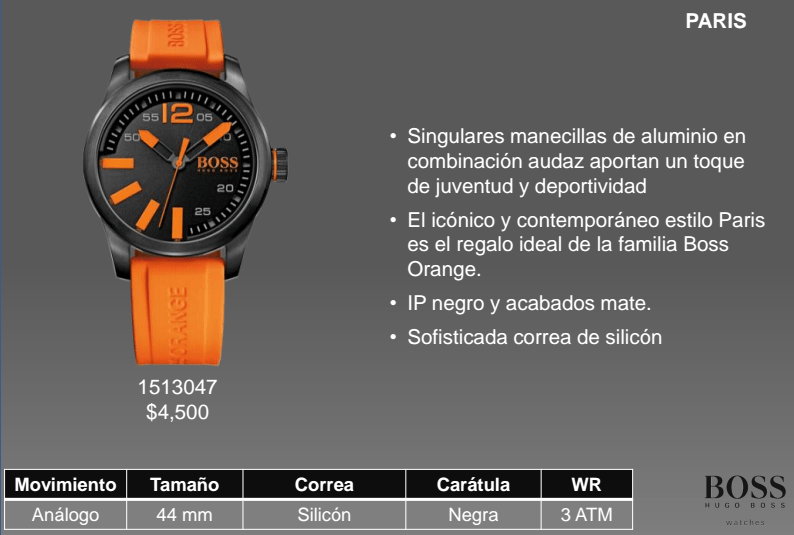 Colección Hugo Boss Orange Watches llega a México - Hugo-Boss-Orange