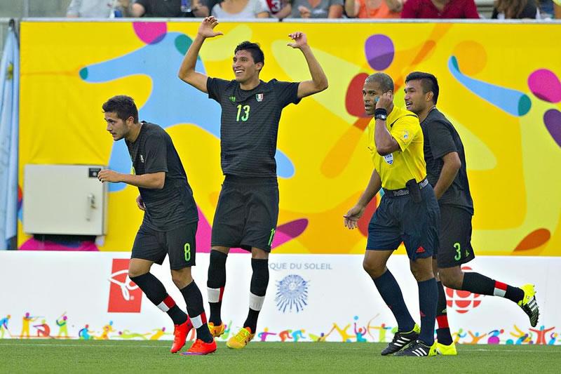 México vs Trinidad Sub 22 en Panamericanos 2015 - Mexico-vs-Trinidad-y-Tobago-Sub-22-Panamericanos-2015