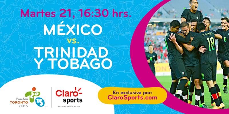 México vs Trinidad Sub 22 en Panamericanos 2015 - Mexico-vs-Trinidad-y-Tobago-Sub-22-en-vivo-Claro-Sports-Panamericanos-2015