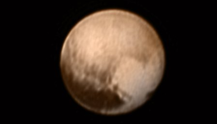 Nave de la NASA revela el «corazón» de Plutón
