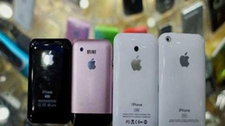 Pekín: desmantelan red que elaboró 40,000 iPhones falsos