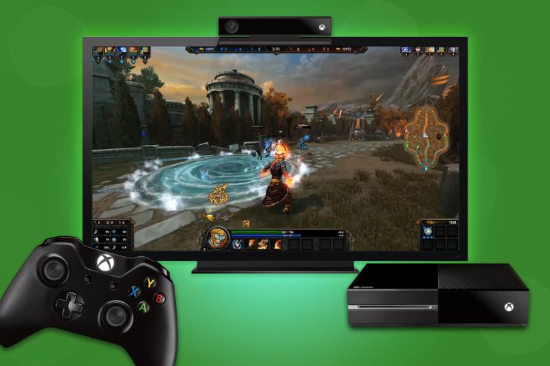 Xbox One, a nada de transformarse en una computadora - smite-on-xbox-one-800x533