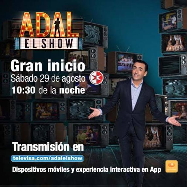 Adal, el show se podrá ver en vivo por internet ¡Entérate! - Adal-el-show-por-internet