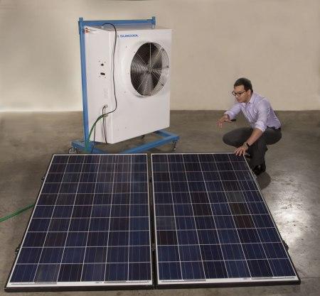 Desarrollan aire acondicionado que funciona con luz solar