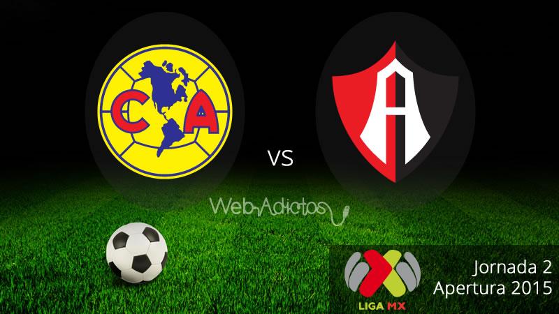 América vs Atlas en el Apertura 2015 - America-vs-Atlas-Apertura-2015-en-vivo