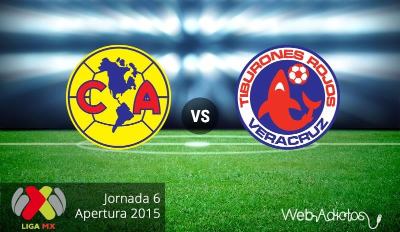 América vs Veracruz, Jornada 6 del Apertura 2015 - America-vs-Veracruz-Apertura-2015