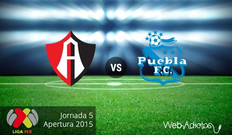 Atlas vs Puebla, Jornada 5 del Apertura 2015 - Atlas-vs-Puebla-Apertura-2015-Jornada-5