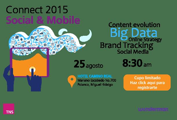 Connect 2015, tendencias en Social Media y Móvil - Connect2015