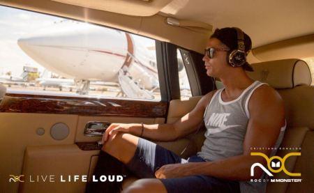 Cristiano Ronaldo lanza ROC Live Life Loud en eBay