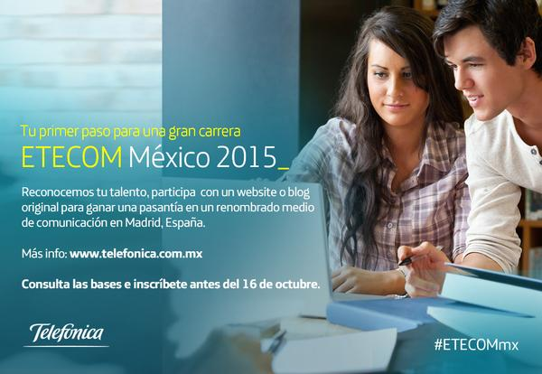 ETECOM México 2015, estímulo Telefónica a la Comunicación - Etecom-mexico-2015