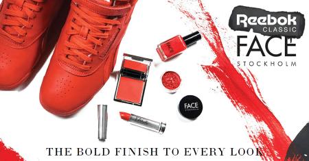 Reebok y FACE Stockholm presentan la colección Lips N Kicks