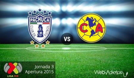 Pachuca vs América, Jornada 3 del Apertura 2015