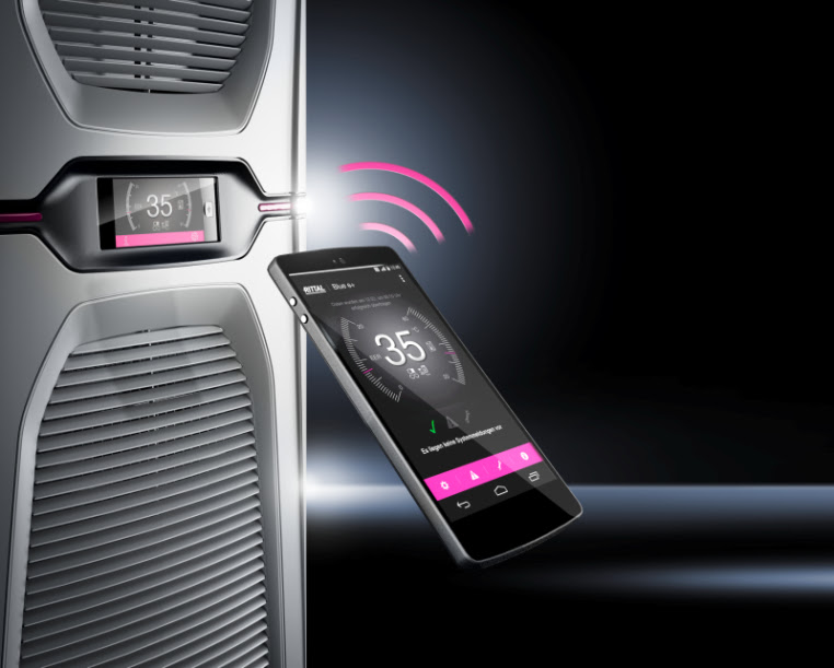 RITTAL, Lanza unidades de refrigeración con ahorro energía - RITTAL-Pantalla-Tactil-Interfaces-Inteligentes