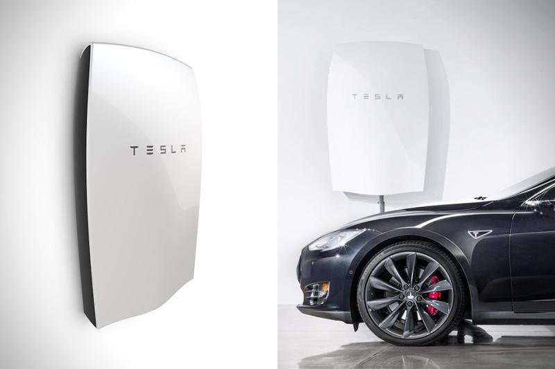 Tesla pone a la venta una línea de baterías solares de uso doméstico - Tesla-Powerwall-800x533