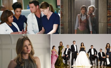 Ultimas temporadas de Grey's Anatomy, Scandal, Revenge y Once Upon a Time llegan a Netflix