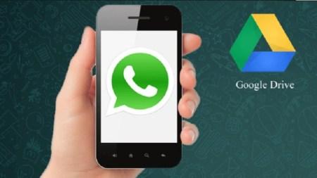 WhatsApp permite respaldar conversaciones con Google Drive