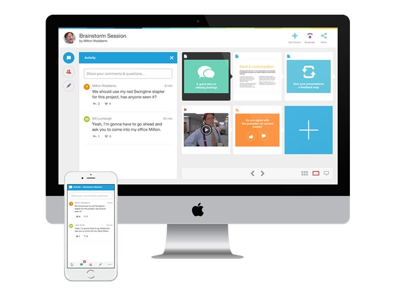 Zeetings, una opción para realizar presentaciones de forma remota - Zeetings-presentaciones-online