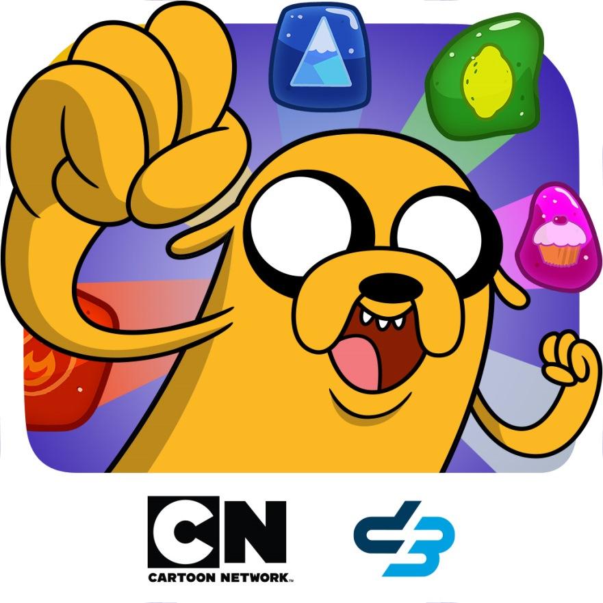 Ya llegó el nuevo juego Hora de Aventura Puzzle Quest - cartoon-puzzel-quest-hora-de-aventura-CN