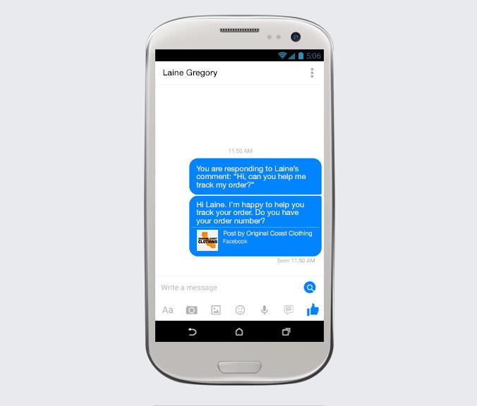 Facebook, introduce nuevos cambios ¡Conócelos! - facebook-Mensaje