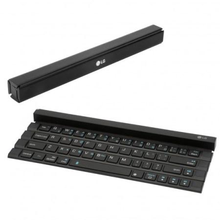 LG lanza al mercado un teclado enrollable portátil