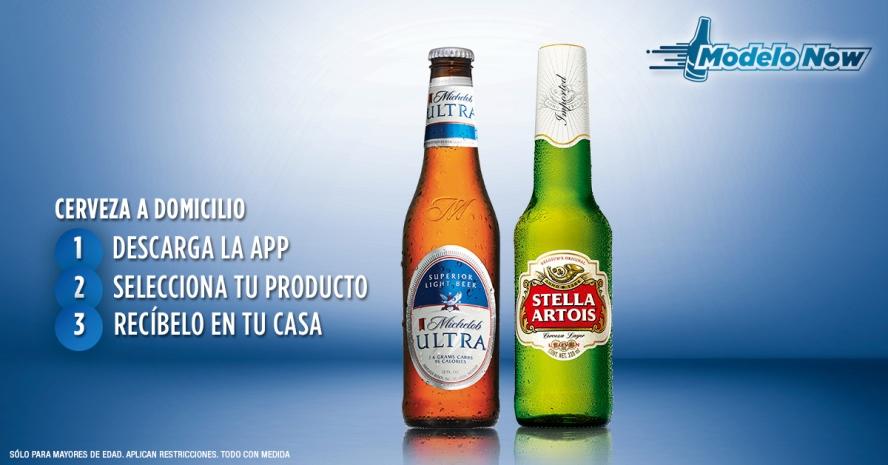 Modelonow la nueva forma de comprar cerveza a domicilio for Jardin de la cerveza 2015 14 de agosto
