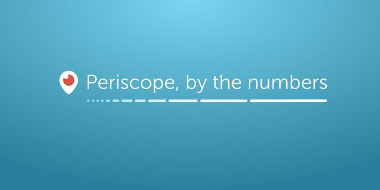 Periscope ya tiene 10 millones de usuarios que ven 40 años de contenido al día - periscope