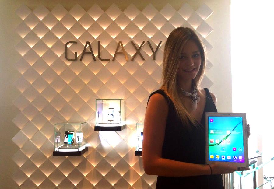 Samsung lanza la Galaxy Tab S2 en México - presentacion-tablet-galaxy-tab2