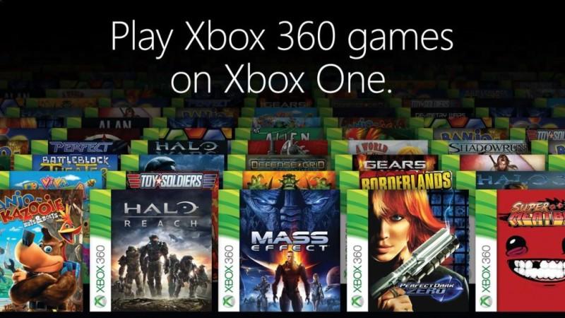 Estos son los 77 primeros juegos de 360 retrocompatibles con Xbox One - xbox-one-retrocompatibilidad-800x450