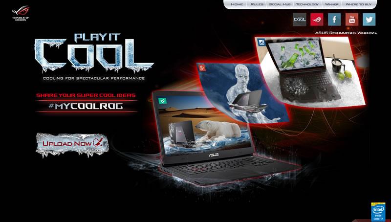 ASUS ROG lanza el concurso Play It Cool ¡Podrás ganar una laptop gaming ROG G751! - ASUS-Play-it-Cool