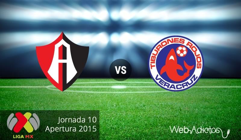 Atlas vs Veracruz en la fecha 10 del Apertura 2015 - Atlas-vs-Veracruz-Apertura-2015