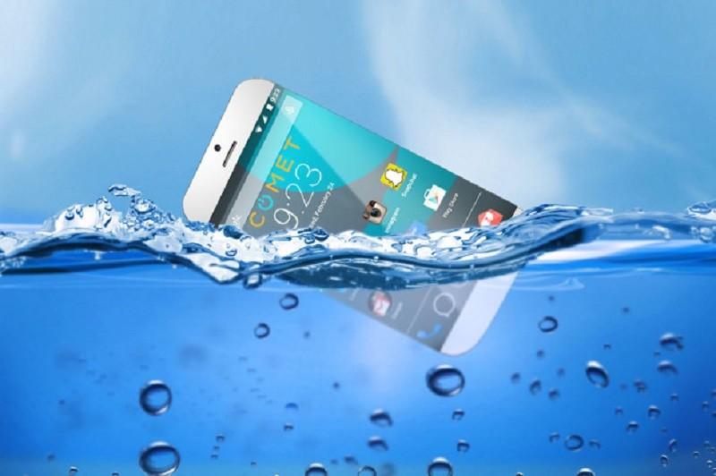 Comet, el teléfono inteligente que puede flotar en el agua - Comet-smartphone-800x532