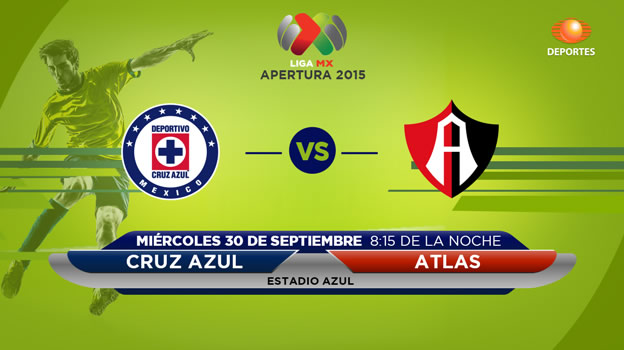 Cruz Azul vs Atlas, Jornada 11 del Apertura 2015 - Cruz-Azul-vs-Atlas-en-vivo-Apertura-2015