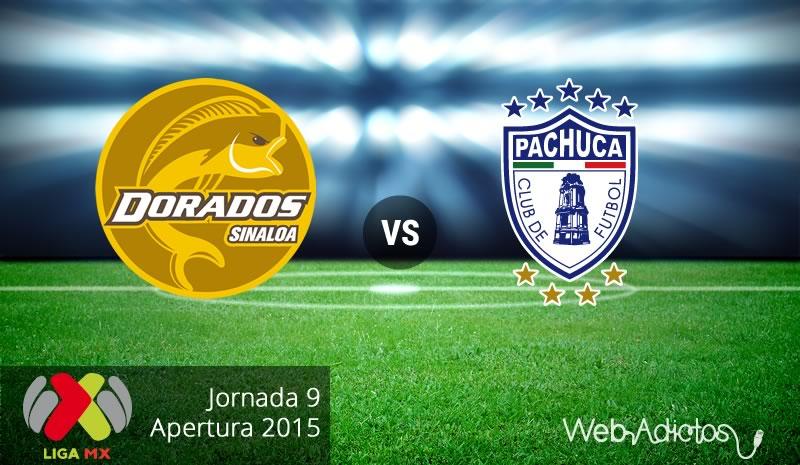 Dorados vs Pachuca, Jornada 9 del Apertura 2015 - Dorados-vs-Pachuca-Apertura-2015