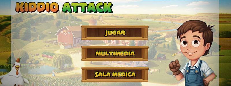 Kiddio Attack, el videojuego creado para tratar niños con cancer - Juego-ninos-con-cancer-kiddio-attack